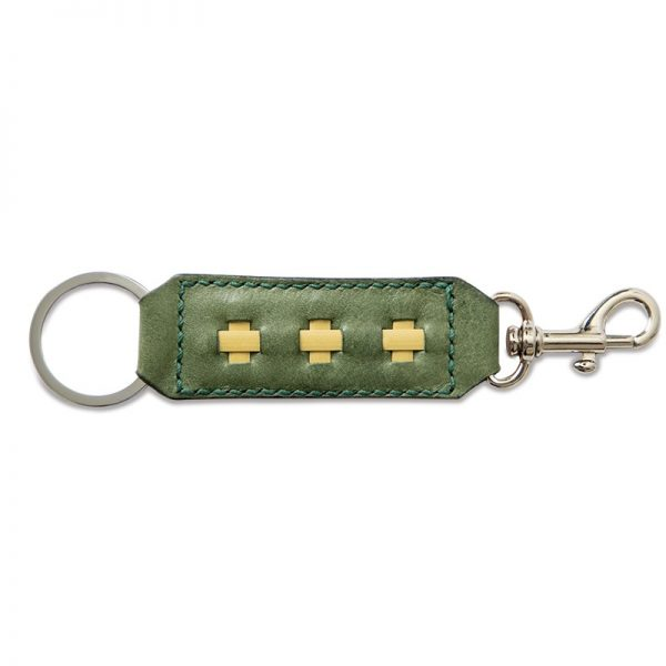 Key Ring and Clasp-Olive Green