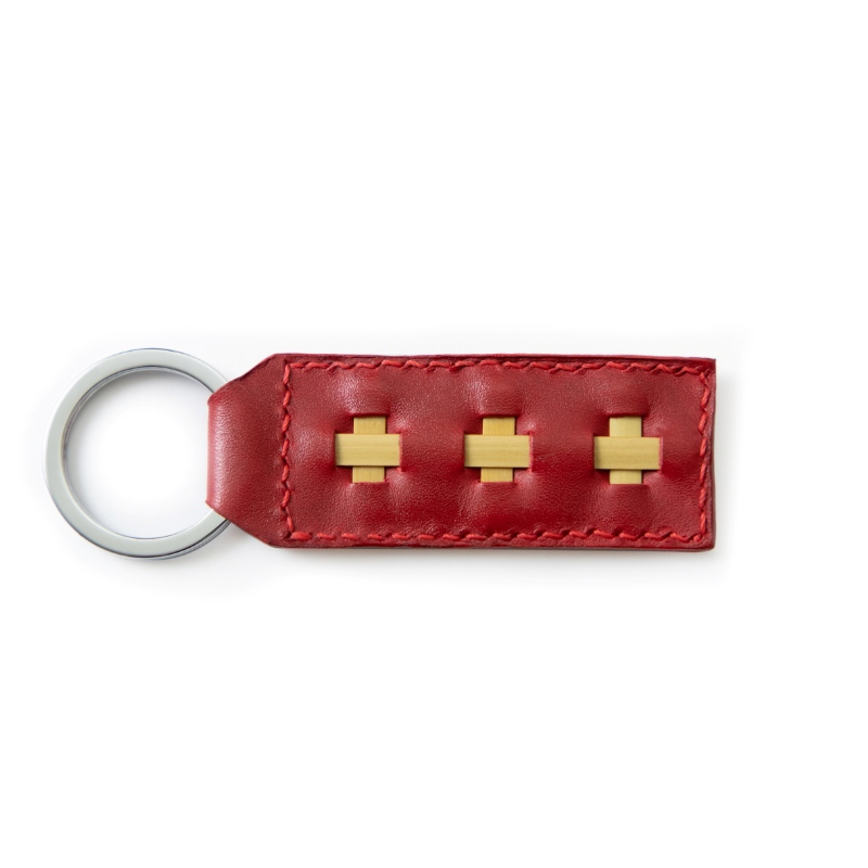 runy red key ring
