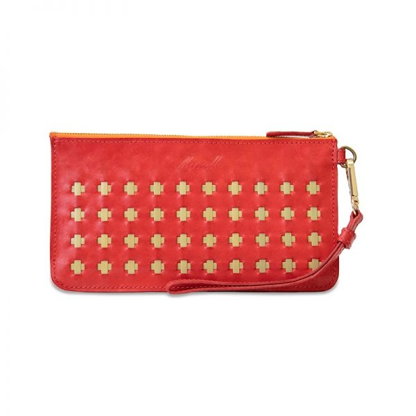 Ruby Red Clutch
