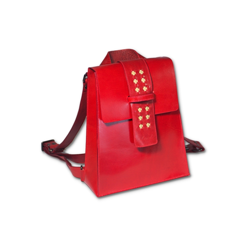 red mini backpack product